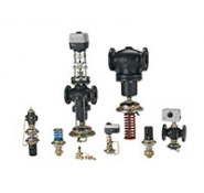 Автоматические регуляторы давления и расхода прямого действия Danfoss