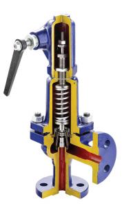 Предохранительный клапан, пропорциональный, пружинный фланцевый арт.240 (A, F, R) Armak