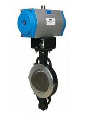 Затворы поворотные с двойным эксцентриком из углеродистой и нержавеющей стали серия 2Е-5 ABO valve