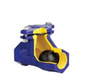 Клапан зворотний каналізаційний чавунний муфтовий арт. 401 ZETKAMA