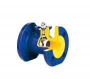 Кран шаровый чугунный фланцевый с электроприводом для воды, пара арт. 565А ZETKAMA