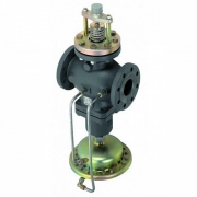 Комбіновані регулятори витрат з регулюючим клапаном під електропривод AFQM Danfoss