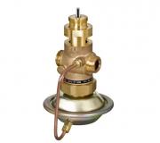 Комбинированные регуляторы расхода с регулирующим клапаном под электропривод AVQM Danfoss