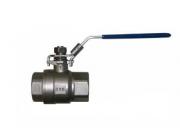 Кран шаровый муфтовый полнопроходной из нержавеющей стали арт. 660 IVR