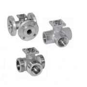 Трехходовые регулирующие шаровые клапаны R..3, R..5, R..7 BELIMO