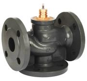 Седельные регулирующие клапаны VF2 (двухходовые), VF3 (трехходовые)