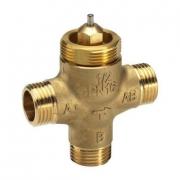 Седельные регулирующие 3-х ходовые клапаны, резьбовые VZL3