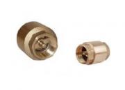 Клапан обратный латунный муфтовый c латунным сердечником арт. 1ТJ103 SATEC