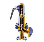 Предохранительный клапан, пропорциональный, пружинный фланцевый арт.240 (A, F, R) zARMAK