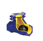 Клапан обратный канализационный чугунный муфтовый арт. 401 ZETKAMA