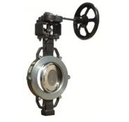 Затвори поворотні з потрійним ексцентриком з вуглецевої і нержавіючої сталі серія 3Е ABO valve