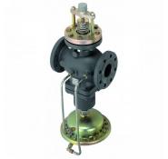 Комбинированные регуляторы расхода с регулирующим клапаном под электропривод AFQM Danfoss