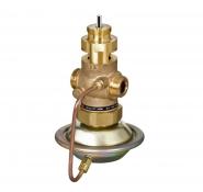 Комбіновані регулятори витрат з регулюючим клапаном під електропривод AVQM Danfoss