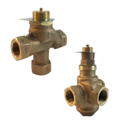 Клапан регулирующий 3-х ходовой L3S, Ду 15-50; Ру 10