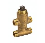 Седельные регулирующие 3-х ходовые клапаны, резьбовые VZ4
