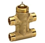Седельные регулирующие 3-х ходовые клапаны, резьбовые  VZL4
