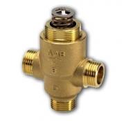 Седельные регулирующие 3-х ходовые клапаны, резьбовые VZ3