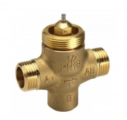Седельные регулирующие 3-х ходовые клапаны, резьбовые VZL2